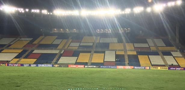 Estádio Kleber Andrade, em Cariacica (ES), o palco da final da Taça Guanabara
