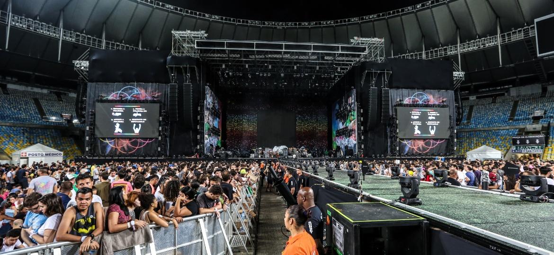 Show do Coldplay no Maracanã; estádio receberá agenda cheia no próximo ano - MARCO ANTONIO TEIXEIRA/ UOL
