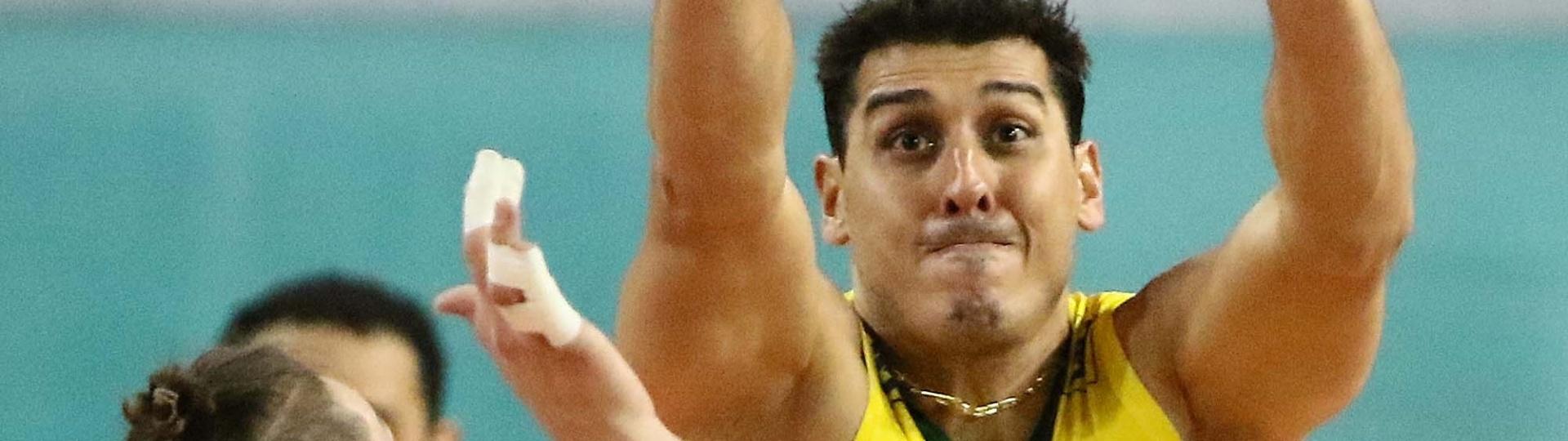 Ausente da seleção desde o Mundial de 2014, Sidão voltou ao time brasileiro nesta segunda-feira