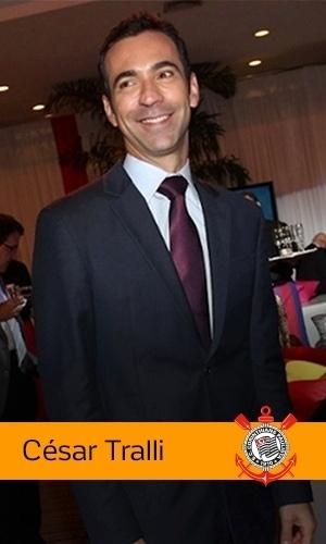 César Tralli (Rede Globo): Corinthians