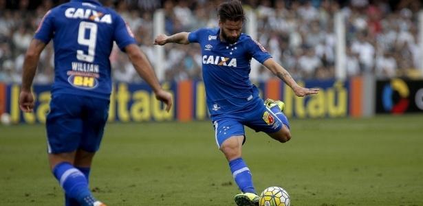 """""""Perna ruim"""" já é responsável por 70% dos gols de Rafael Sóbis pelo Cruzeiro"""