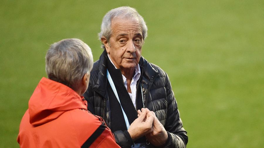 """Rodolfo D""""Onofrio, presidente do River Plate - Kazuhiro Nogi/AFP"""