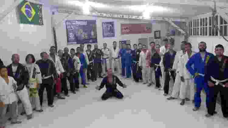 Ronald Pereira, ex-Pânico, virou professor de artes marciais - Arquivo Pessoal - Arquivo Pessoal