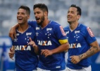 Thiago Neves e Sóbis marcam e garantem vitória do Cruzeiro sobre Coritiba - Thomás Santos/AGIF