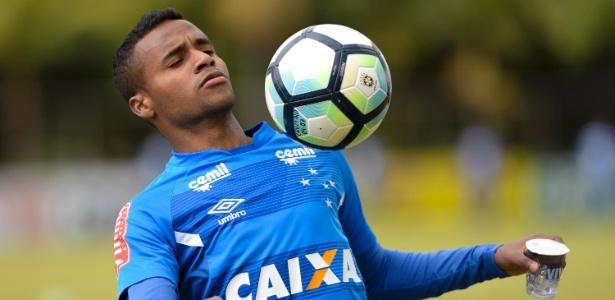 Élber, atacante do Cruzeiro