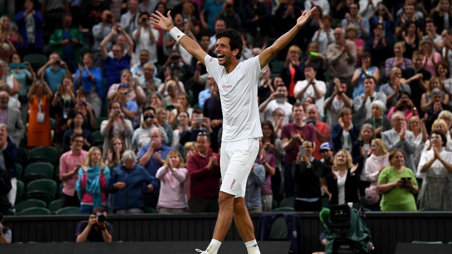 Marcelo Melo comemora a conquista de Wimbledon - Shaun Botterill/Getty Images