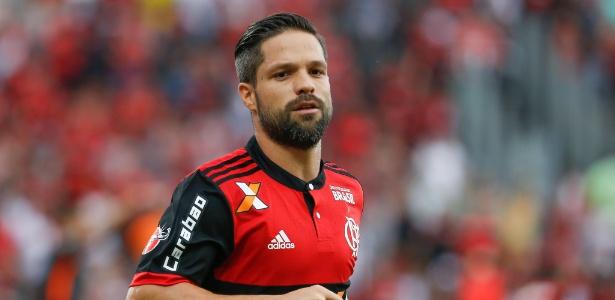 Lesionado, Diego está fora da partida contra o América-MG. Dúvida para Libertadores - Marcello Zambrana/AGIF