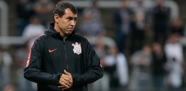 Carille treinou o Corinthians de janeiro de 2017 a maio de 2018 e conquistou três títulos - Marcello Zambrana/AGIF