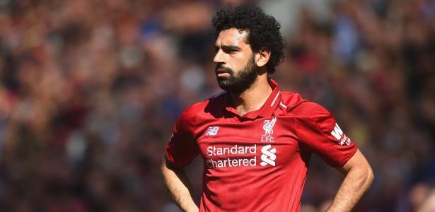Salah tem contrato com o Liverpool até 2022
