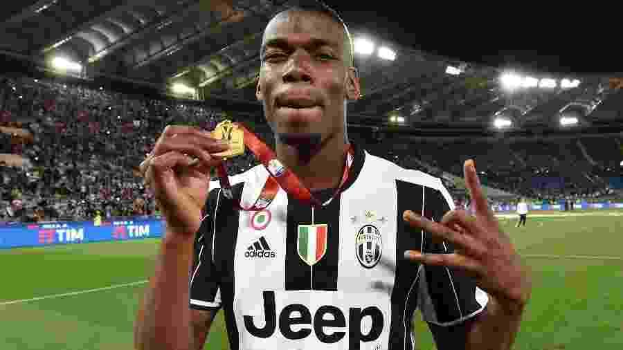 Pogba está na mira da Juventus para a próxima temporada - Giuseppe Bellini/Getty Images