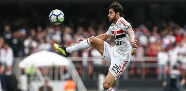 Hudson é um dos cinco pendurados do Tricolor na 31ª rodada do Brasileirão - Marcello Zambrana/AGIF