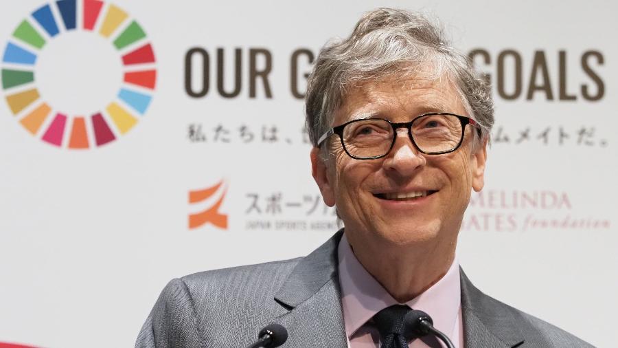 "Bill Gates ""previu"" crise do coronavírus e agora aponta caminhos para saída - Toshifumi KITAMURA / AFP"