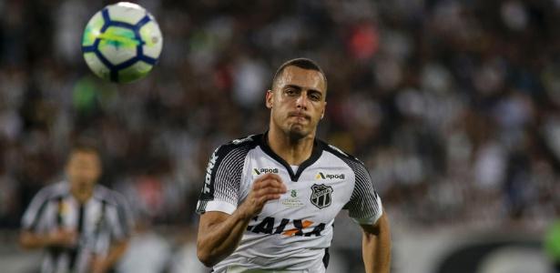 7a2577a163 Arthur Cabral marcou sete gols pelo Ceará no Campeonato Brasileiro de 2018  (Foto  Reprodução Uol Esporte)