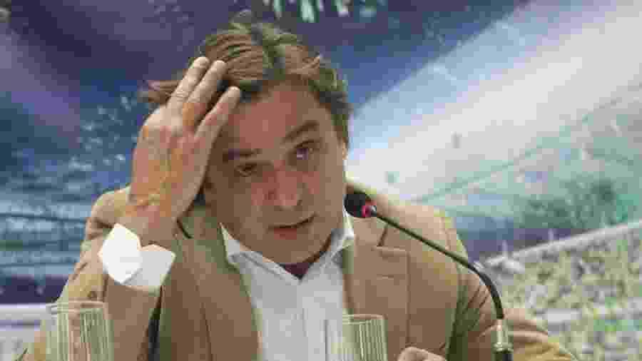 Arnaldo Tirone (foto) é alvo de processo movido por José Roberto Lamacchia, dono da Crefisa, atual patrocinadora do Palmeiras - Moacyr Lopes Junior/Folhapress