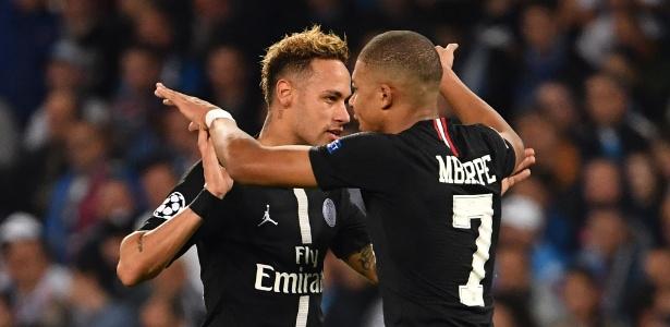 """Neymar e o PSG podem ver a temporada """"se definir"""" nesta quarta-feira, em Paris - Alberto PIZZOLI / AFP"""