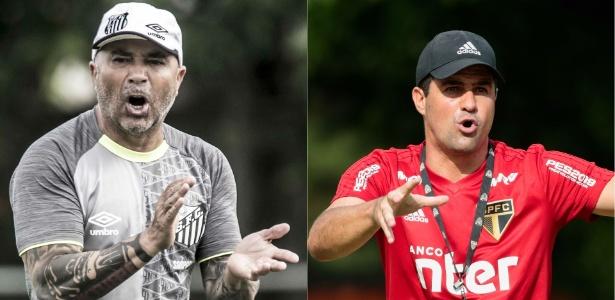 Ivan Storti/SantosFC e Marcello Zambrana/AGIF