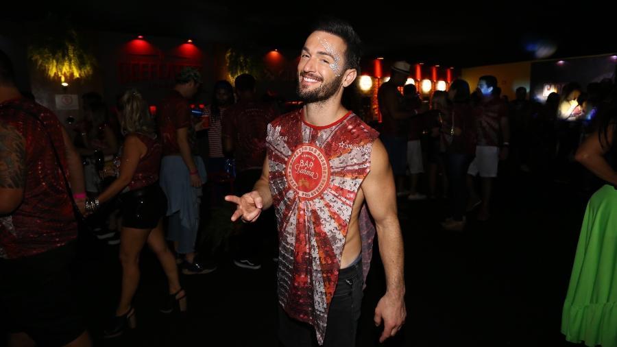 O ginasta Diego Hypolito no Camarote Bar Brahma no Carnaval SP 2019 - Claudio Augusto/Brazil News