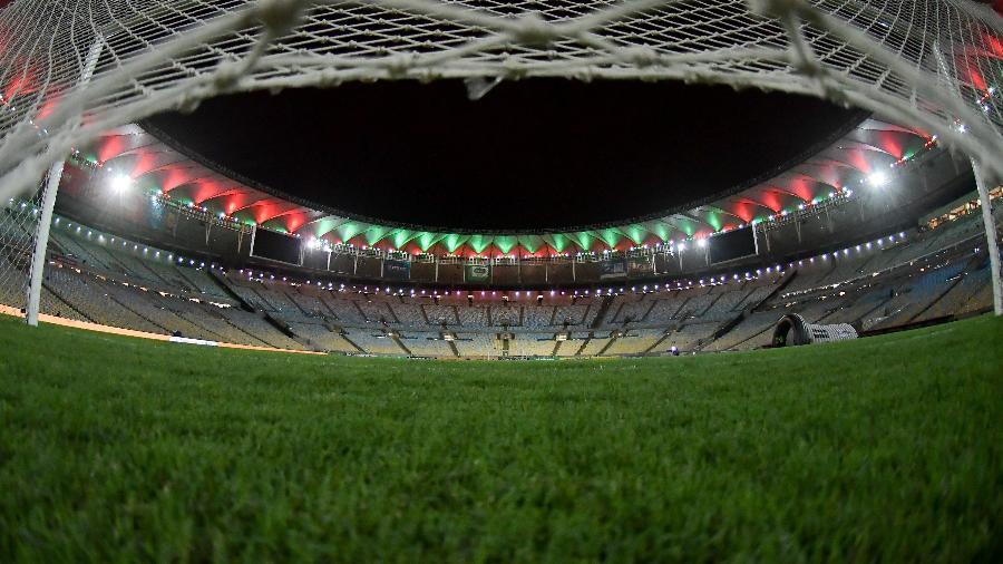 Maracanã vazio: a bola segue sem rolar no Rio de Janeiro - Thiago Ribeiro/AGIF