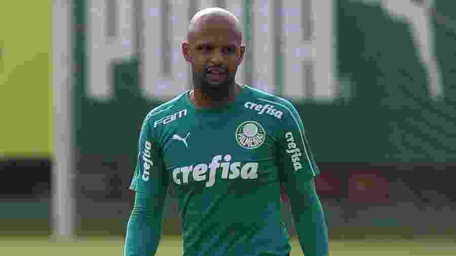 Felipe Melo é titular absoluto de Felipão e destaque do Palmeiras em 2019 - Cesar Greco/Ag. Palmeiras/Divulgação