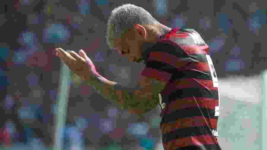 Gabriel deve ser baixa novamente no Flamengo - Alexandre Vidal/CRF