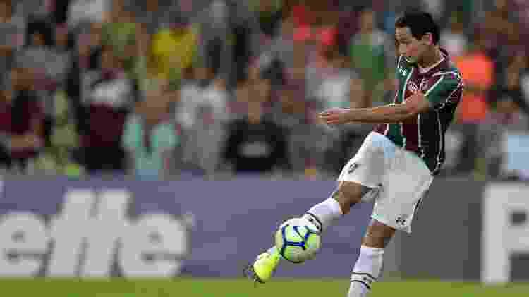 Ganso saiu vaiado no Maracanã - Thiago Ribeiro/AGIF