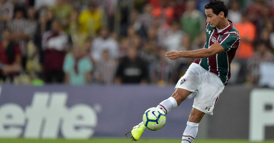 Ganso, durante partida entre Fluminense e Avaí
