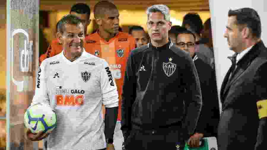 Elenco e comissão técnica do Atlético-MG são alvos de protesto por parte da torcida - Bruno Cantini/Divulgação/Atlético-MG