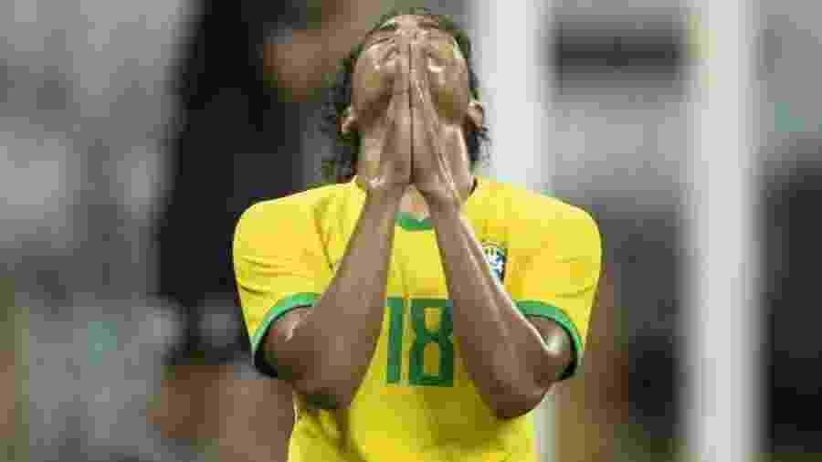 Duda é atacante e estreou pela seleção brasileira com gol em amistoso contra o México - Lucas Figueiredo/CBF