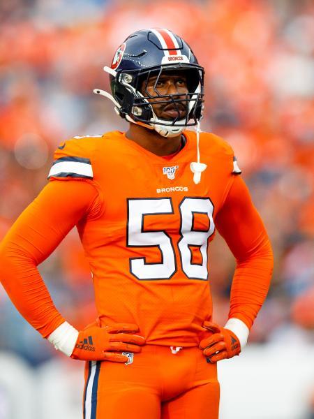 Von Miller, jogador do Denver Broncos - Justin Edmonds/Getty Images