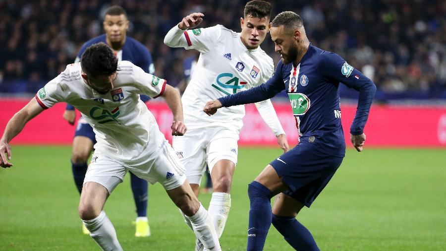 Observatório de Futebol CIES simulou Lyon vencendo o Campeonato Francês com um ponto de vantagem sobre o PSG - Jean Catuffe/Getty Images