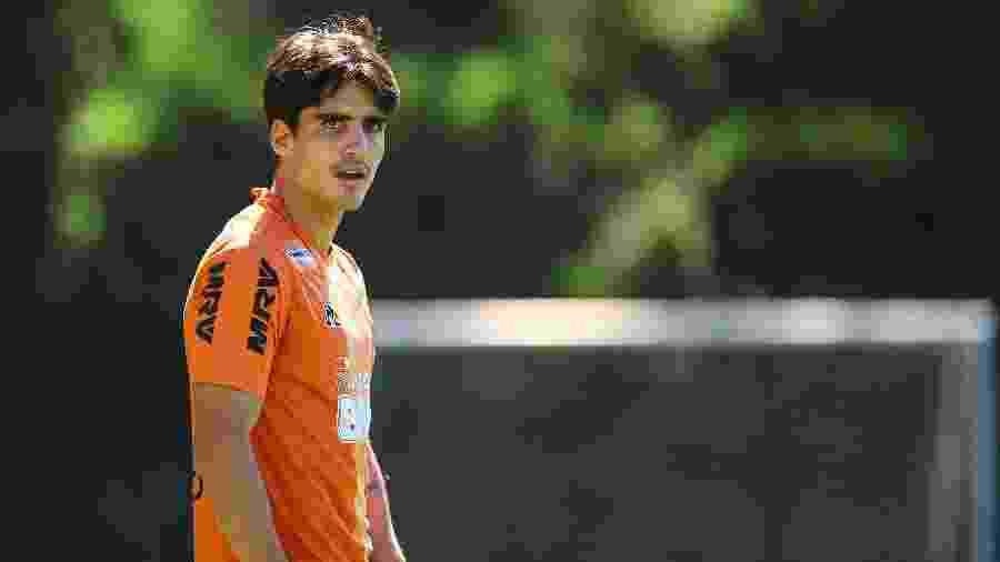 Gustavo Blanco, volante do Atlético-MG, agrada ao técnico Jorge Sampaoli - Pedro Souza/Divulgação/Atlético-MG