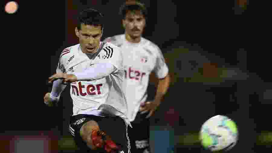 Hernanes - Rubens Chiri / saopaulofc.net