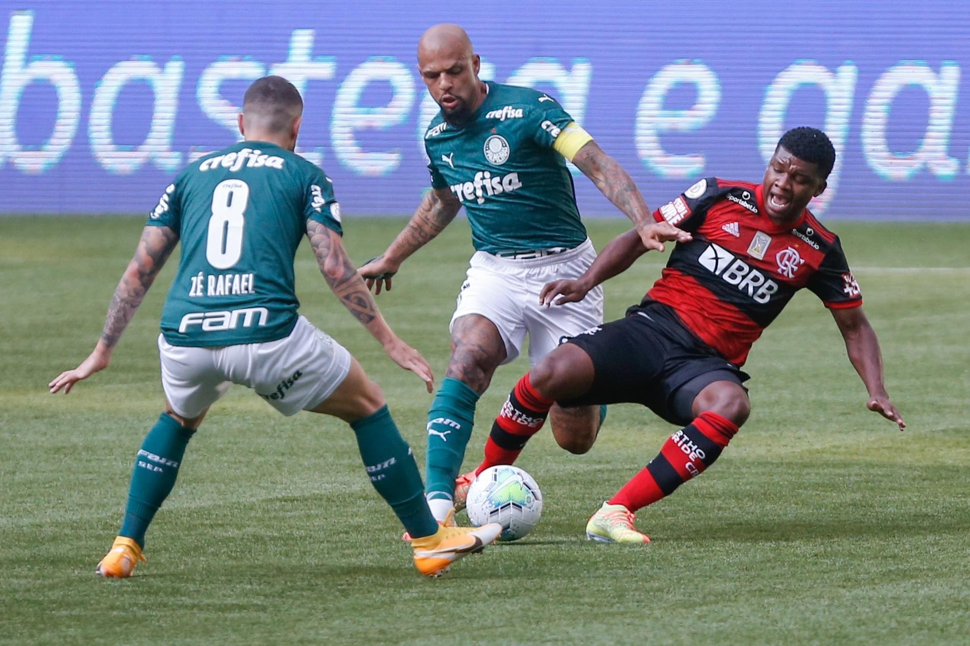 Palmeiras Sofre Com Fla Desfalcado E Fica No 1 A 1 Em Jogo Da Discordia 27 09 2020 Uol Esporte