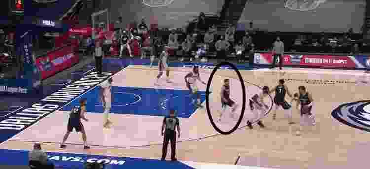 Stack - Reprodução/NBA - Reprodução/NBA