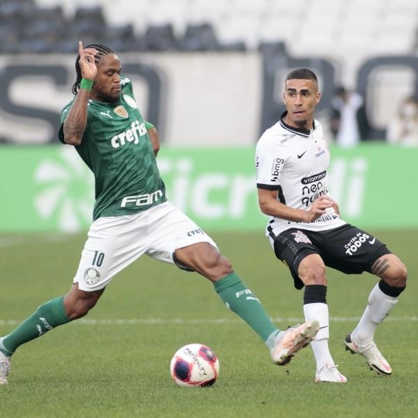 Corinthians x Palmeiras pela semifinal do Campeonato Paulista