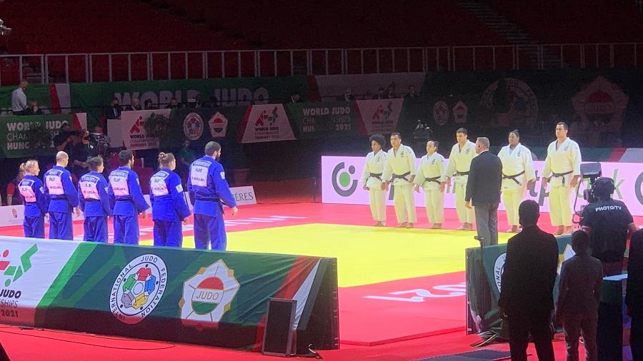 Brasil conquista bronze por equipes no mundial de judô - Divulgação/CBJ
