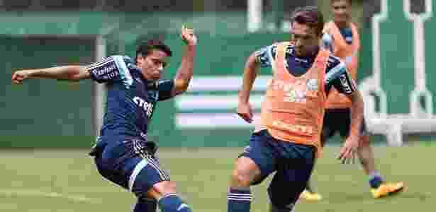 Jean e Allione podem enfrentar o Linense neste sábado - Cesar Greco/Agência Palmeiras