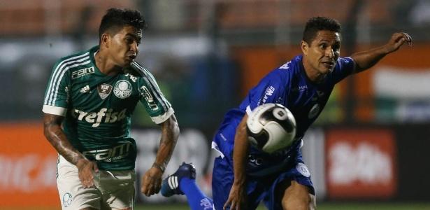 Dudu em ação durante o empate por 2 a 2 com o São Bento, no Pacaembu - Cesar Greco/Ag Palmeiras