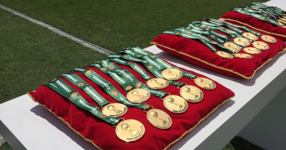 Medalhas campeões Copa Sul-Americana