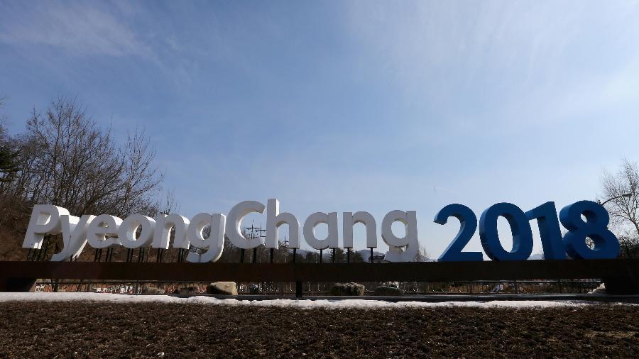 Vista geral de local perto da Pyeongchang Mountain Cluster, na sede dos Jogos Olímpicos de Inverno de 2018 - Sean M. Haffey/Getty Images