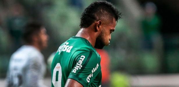 Miguel Borja ainda não engrenou com a camisa do Palmeiras - Ale Cabral/AGIF