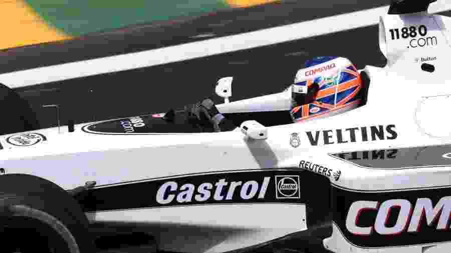 """Britânico correu pela equipe em 2000 e chegou a conversar sobre retorno em """"três ou quatro"""" ocasiões - Paulo Whitaker/Reuters"""