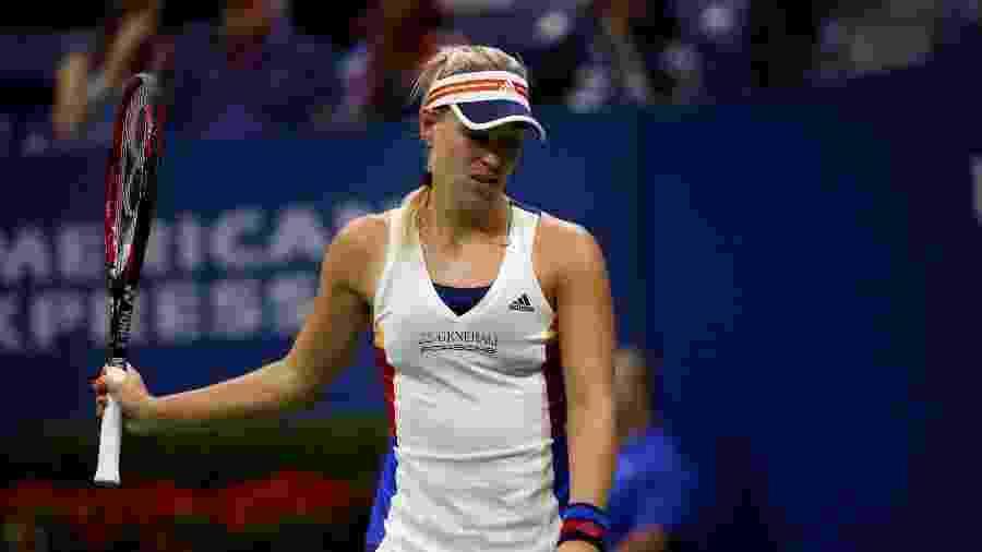 Angelique Kerber lamenta ponto perdido para Naomi Osaka - Mike Segar/Reuters