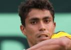 Monteiro vence 1º duelo, mas Colômbia empata série com o Brasil na Davis - AFP/Jiji Press/STR