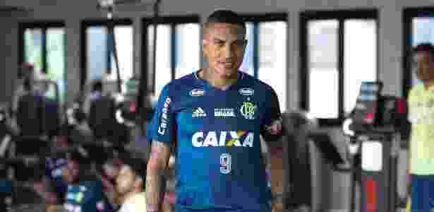 Guerrero ficará no CT fazendo trabalho de recuperação - Gilvan de Souza / Flamengo