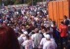 Torcedores do Paraná brigam entre si após jogo de torcida única; MP comenta - Reprodução