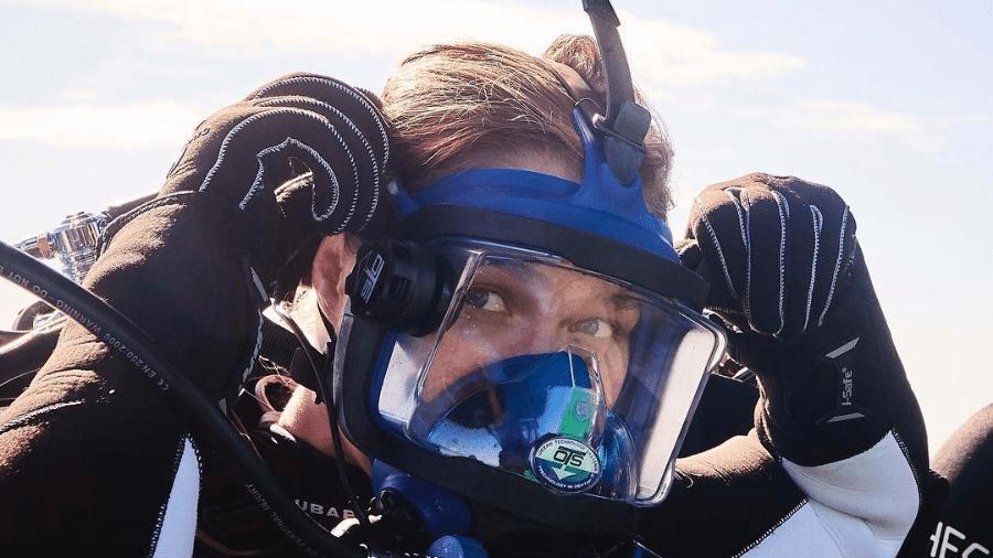 Ronda Rousey participa de programa de mergulho com tubarões - Reprodução/Instagram