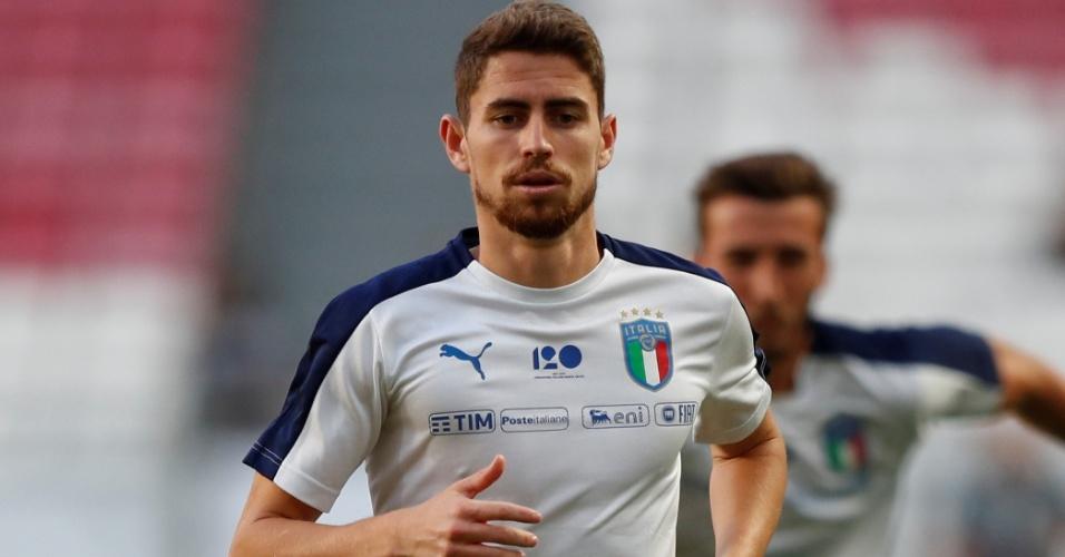 Jorginho Itália Portugal Liga das Nações