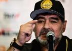 """Maradona elege Mourinho o melhor: """"Guardiola tem o jogador que quiser"""" - RONALDO SCHEMIDT / AFP"""