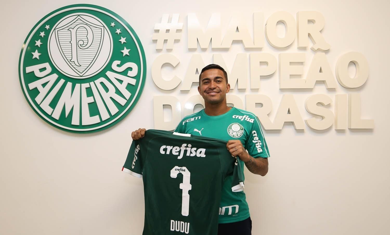 4592508de6 Dudu renova contrato com Palmeiras até dezembro de 2023 - 19 01 2019 - UOL  Esporte